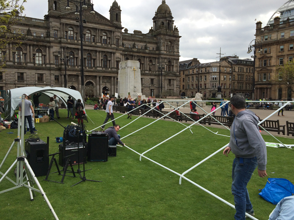 Getting Ready for the Glasgow 420 Event