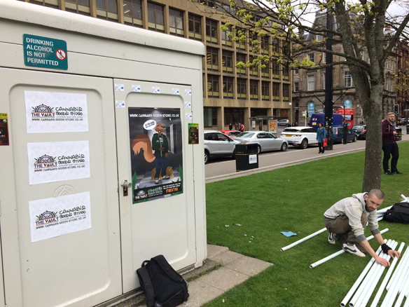 Preparing for the Glasgow 420 Event