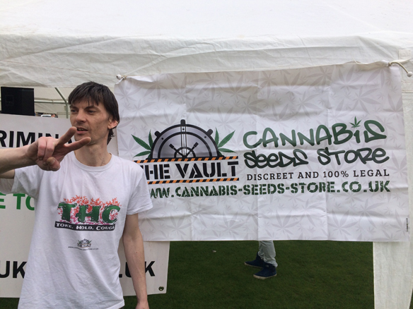 Ronald Rae at Glasgow 420 Event