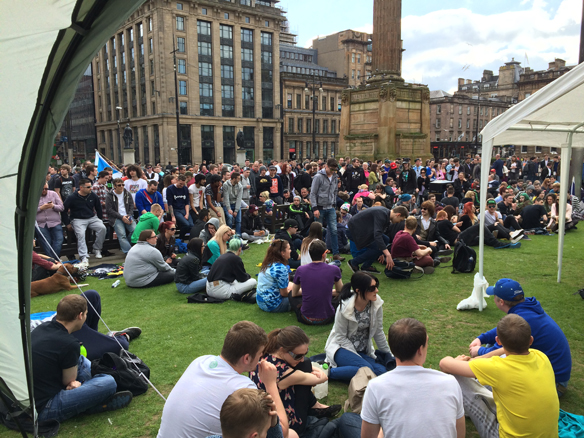 The Vault at Glasgows 420 Event