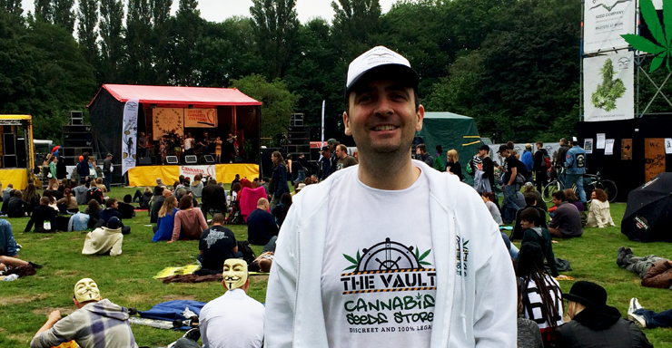 Cannabis Liberation Day The Vaults Visit