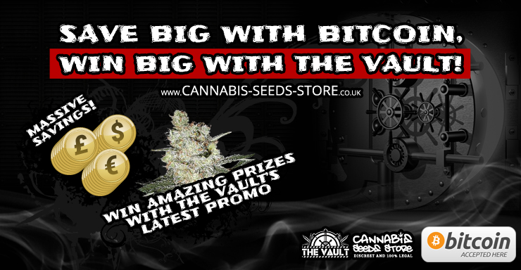 Buy cannabis seeds with Bitcoin