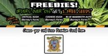 New Freebies – Orders over £50 get 2 FREE PREMIUM SEEDS