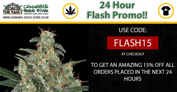 The Vault Cannabis Seeds Sttore Flash Sale