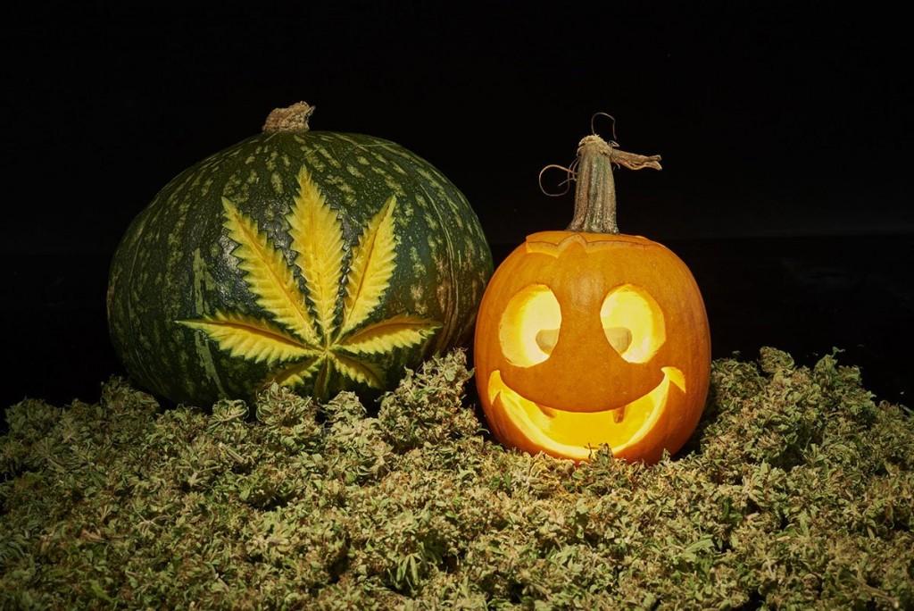Cannabis Halloween