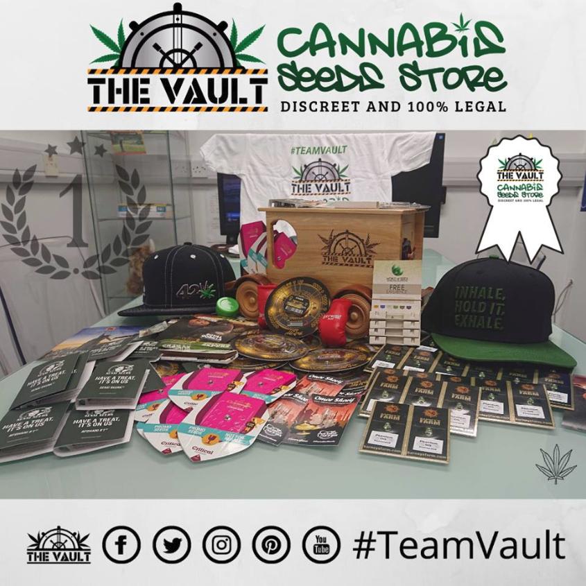 Be Social Vault Promo – Win Seeds