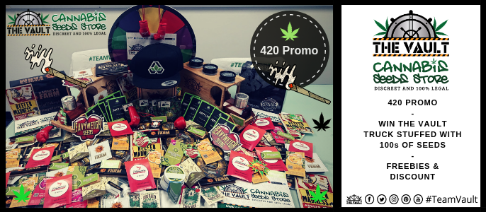 Vault 420 Promo – Win a Truck Full of Seeds
