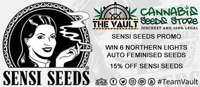 Sensi Seeds Cannabis Seeds Promo