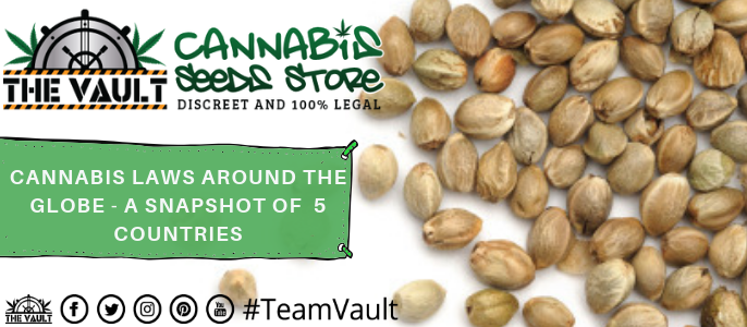 Cannabis  Seeds  Laws  Around  The  World