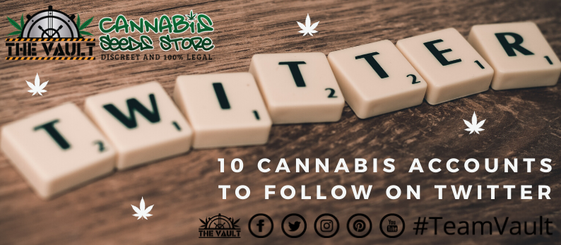 10 Cannabis Accounts to follow on Twitter