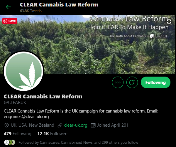 Cannabis Law Reform - CLEAR