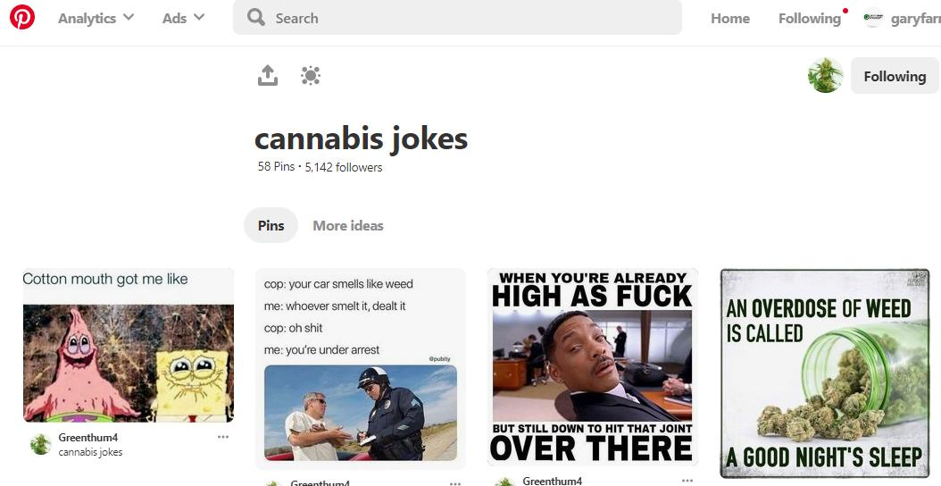 Cannabis Jokes