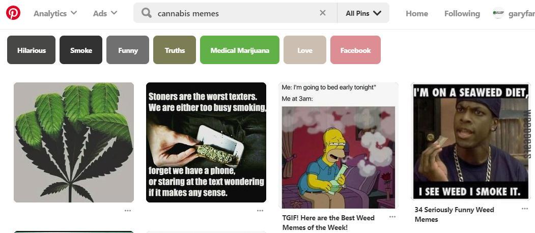 Cannabis Memes