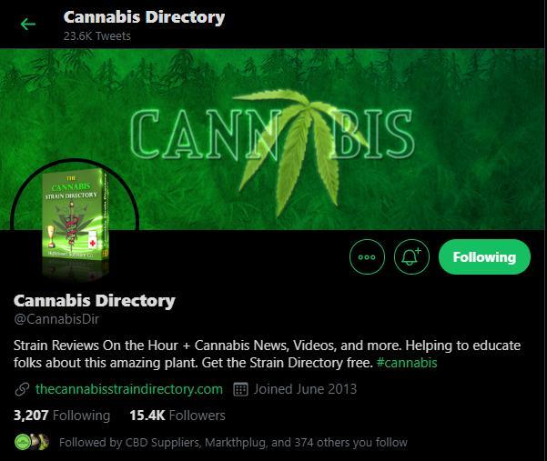 Cannabis Strain Directory