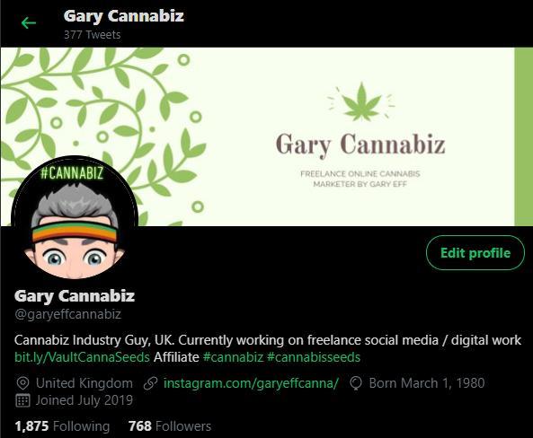 Gary Cannabiz