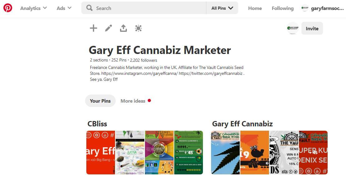 Gary Eff Cannabis Marketing