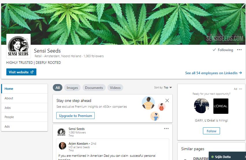 Senis Seeds on Linkedin