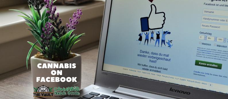 Cannabis on Facebook