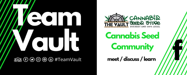 The Vault Cannabis Seeds Store on Facebook