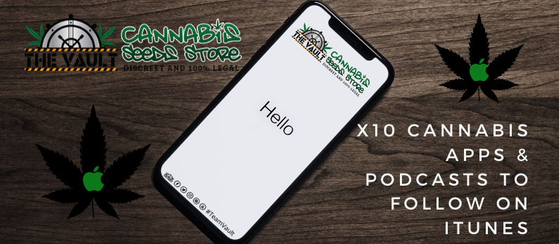 10 cannabis apps and podcasts to follow