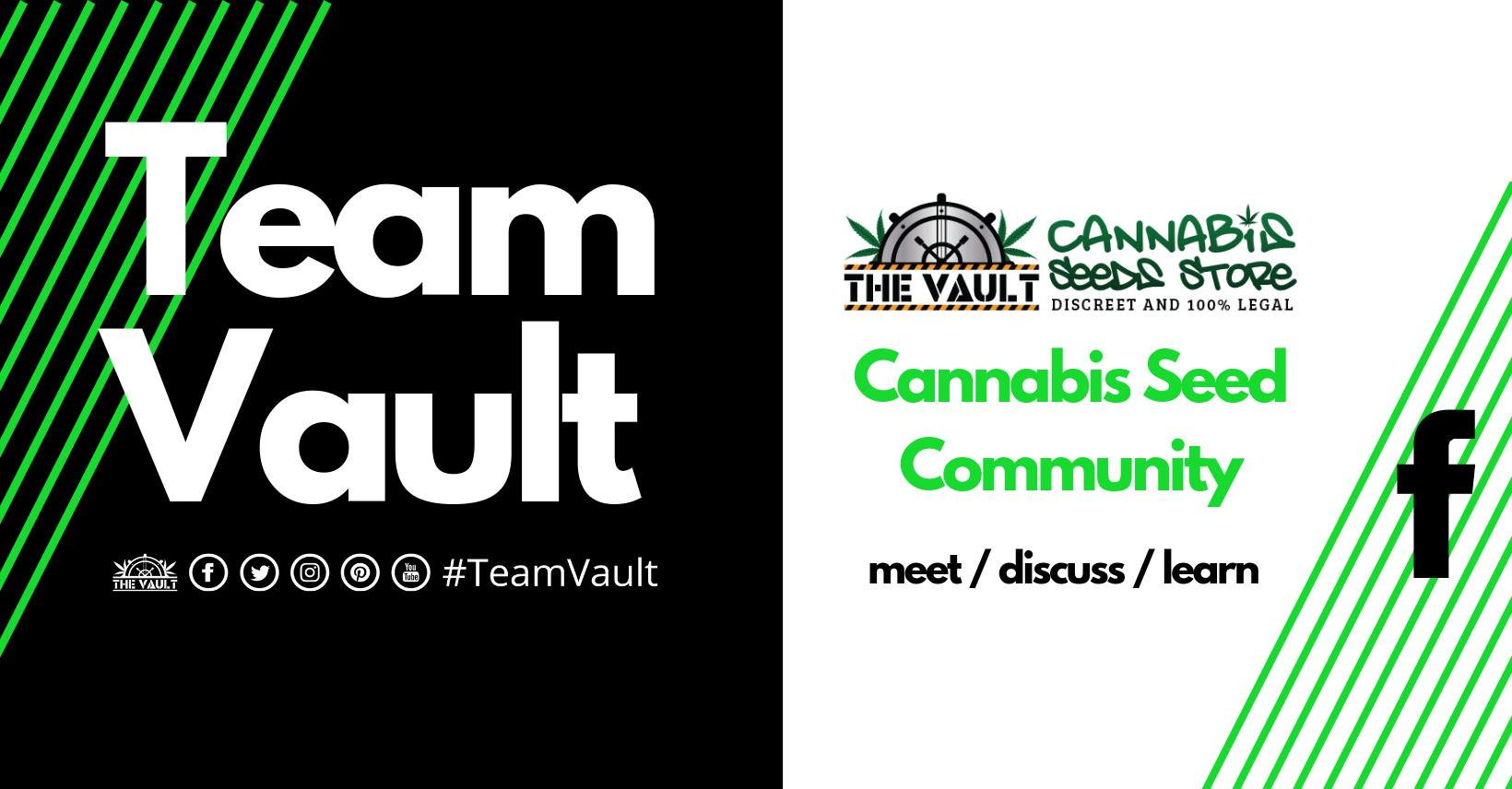 The Vault Cannabis Seed Community