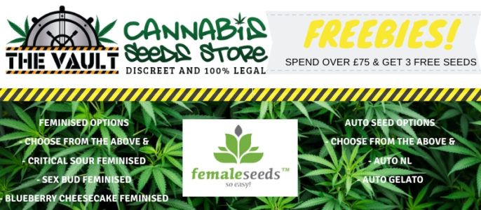 New Freebies at The Vault from Female Seeds
