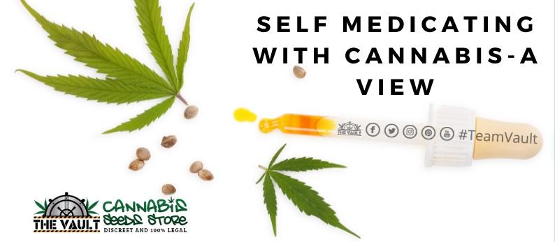 An open response to self medicating with cannabis in the UK