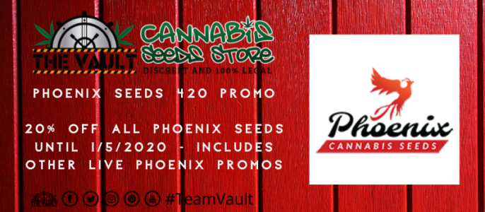 Phoenix Seeds 420 Promo – 20% Discount and more!