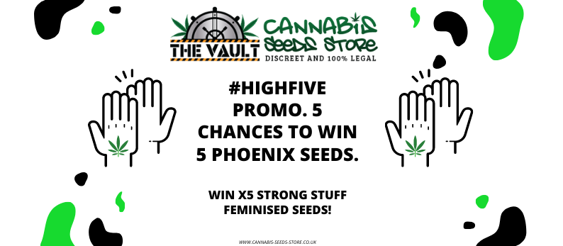 5 Chances to Win 5 Phoenix Seeds in our High 5 Promo