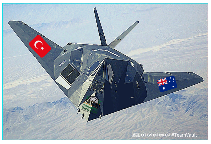 Team Vault Airways - The Vault Are Shipping to Australia and Turkey Again