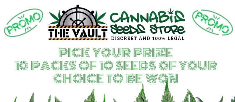 The Vault Cannabis Seed Store 10 packs