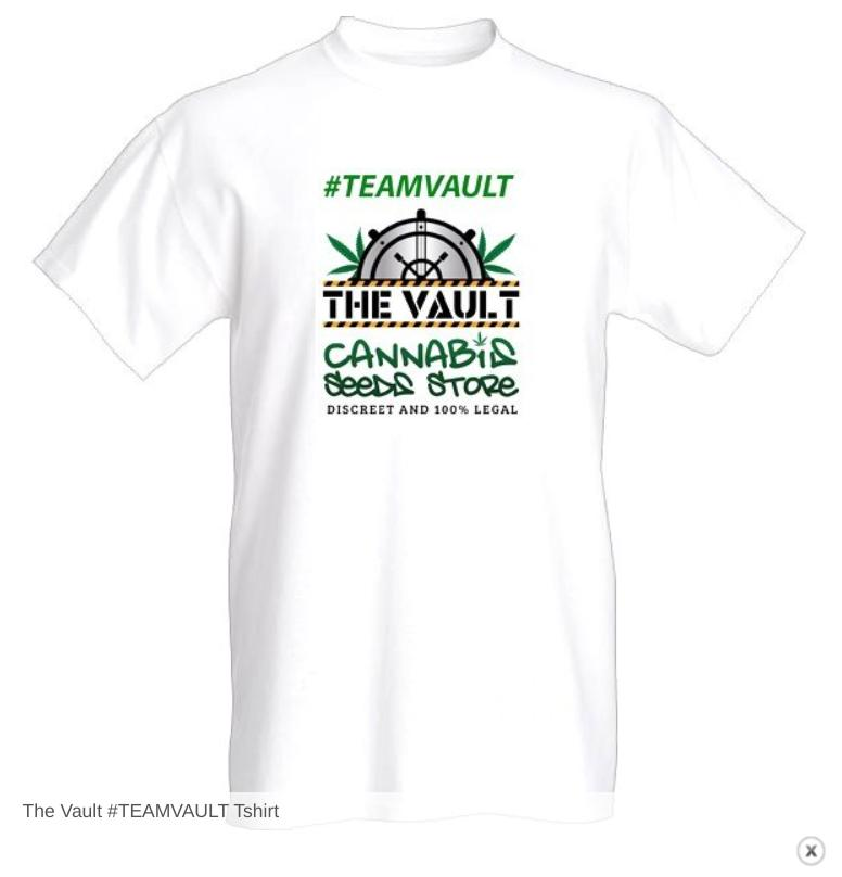 The Vault Cannabis Seed T Shirt