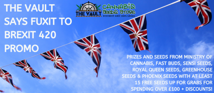 420 Promo – Discounts, Freebies & Brexit Beans to be Won