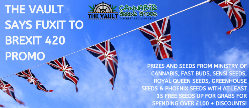 420 Promo - Discounts, Freebies & Brexit Beans to be Won