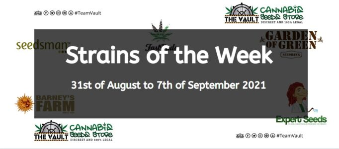 Strains of the Week – 31st of August  to 7th of September 2021